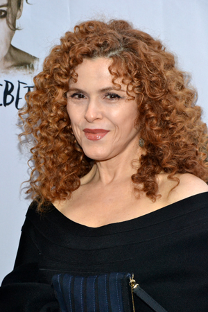 Bernadette Peters is looking glamorous on opening night.<br />(© David Gordon)