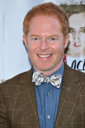 Jesse Tyler Ferguson (<i>Modern Family</i>) rocks a bow tie on opening night.<br />(© David Gordon)