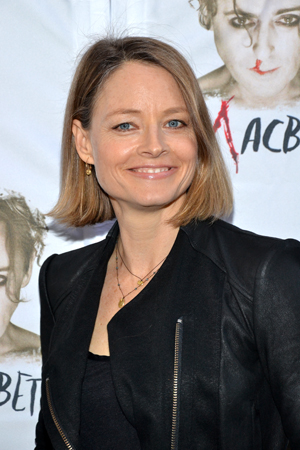 When will two-time Academy Award winner Jodie Foster make her own Broadway debut?<br />(© David Gordon)