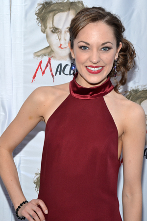 Laura Osnes is looking forward to a much darker show than Broadway's <i>Cinderella</i>, in which she stars.<br />(© David Gordon)