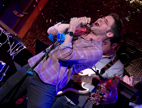 Special guest star Jeremy Jordan impresses with