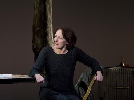 Fiona Shaw in <I>The Testament of Mary</I>.