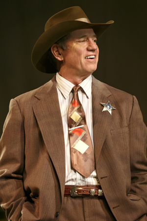 Tom Wopat as Sheriff<br />© Joan Marcus