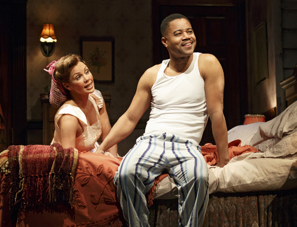 Vanessa Williams and Cuba Gooding Jr. as married couple Jessie Mae and Ludie Watts<br />© Joan Marcus
