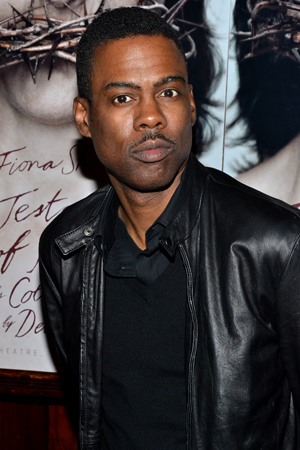 Chris Rock recently appeared on Broadway in <i>The Motherf**cker With the Hat</i>, which was produced by <i>The Testament of Mary</i>'s Scott Rudin.<br />(© David Gordon)