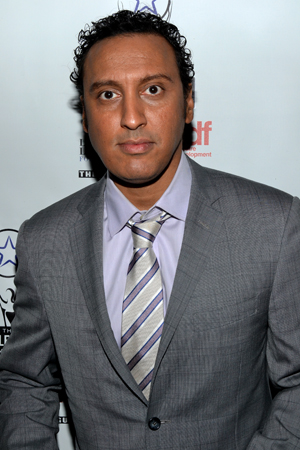 Aasif Mandvi (<i>Disgraced</i>) isn't just a nominee. He'll also host the awards ceremony on May 5.<br />(© David Gordon)