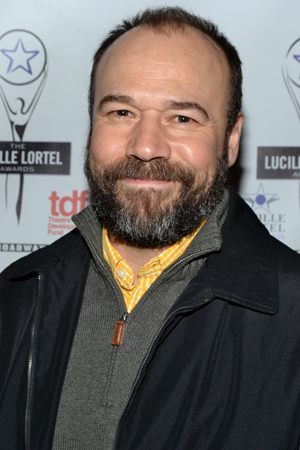 Danny Burstein is proud to be nominated for his sensitive work in <i>Talley's Folly</i>.<br />(© David Gordon)