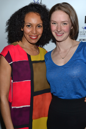Eisa Davis and Amanda Quaid are nominated in the same category for their work in the drama <i>Luck of the Irish</i>.<br />(© David Gordon)