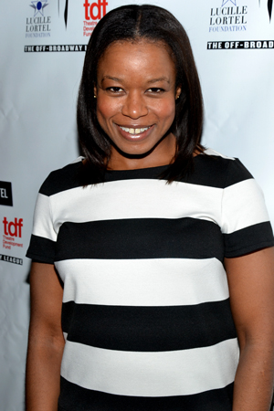 Quincy Tyler Bernstine is a nominee for her work in the Chekhov-inspired drama <i>Neva</i>.<br />(© David Gordon)