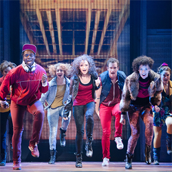 The national touring company of <i>Flashdance</i>.