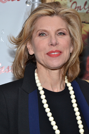 Christine Baranski, soon to be seen in the New York City Center Encores! production of <i>On Your Toes</i>, is ready for a night at the theater.<br />(© David Gordon)