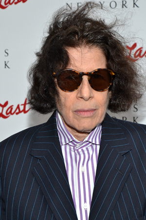 Noted author Fran Lebowitz was another of Sue Mengers' friends on hand for the new bioplay.<br />(© David Gordon)