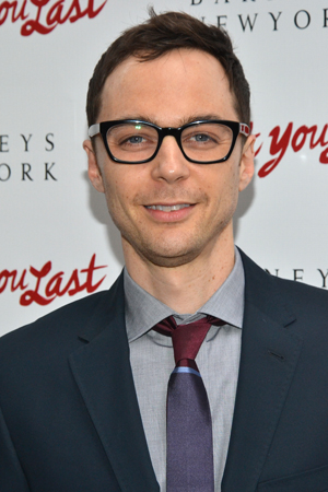 <i>The Big Bang Theory</i> star Jim Parsons is back in New York and ready to root for his <i>Normal Heart</i> costar, <i>I'll Eat You Last</i> director Joe Mantello.<br />(© David Gordon)
