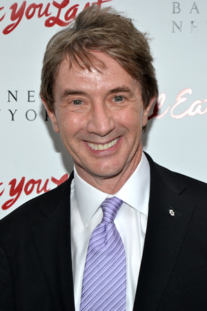 Martin Short is ready to see is friend Bette Midler on Broadway.<br />(© David Gordon)