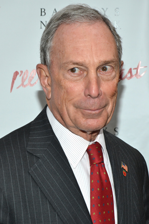 New York City Mayor Michael Bloomberg has collaborated with Bette Midler on many environmental projects to help restore the Big Apple. <br />(© David Gordon)