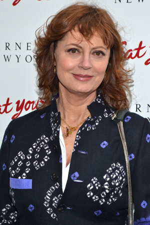 Susan Sarandon is on hand to support her pal Bette Midler.<br />(© David Gordon)