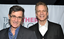 <i>Peter and the Starcatcher</i> codirector and bookwriter Roger Rees and Rick Elice