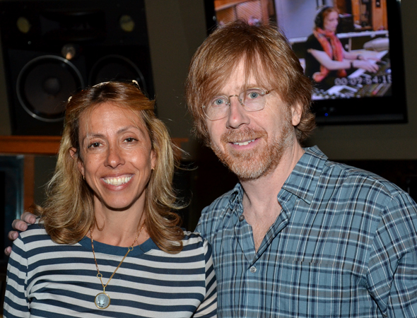 <i>Hands on a Hardbody</i> composer/lyricists Amanda Green and Trey Anastasio are proud that they're show is getting a CD.<br />(© David Gordon)