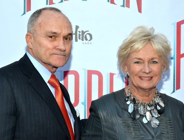 Even New York City Police Commissioner Ray Kelly and his wife, Veronica, get to have a date night at a Broadway show.<br />(© David Gordon)