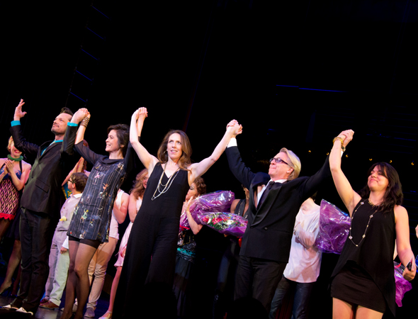 The creative team takes a bow.<br />(© David Gordon)