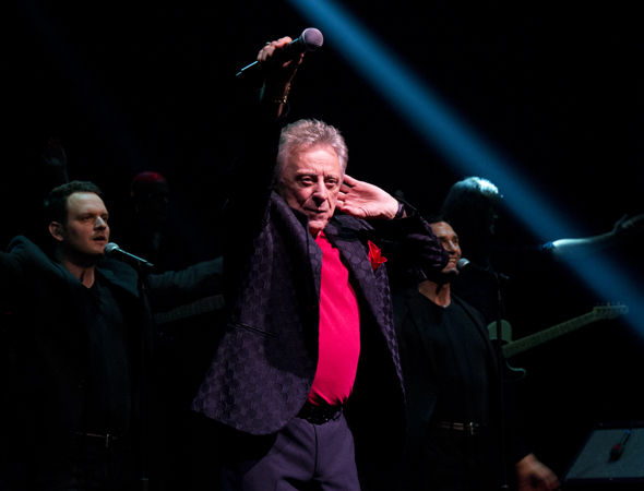 Frankie Valli and The Four Seasons took the Broadway Theatre by storm in a brief concert engagement that opened on October 19.<br />(© David Gordon)