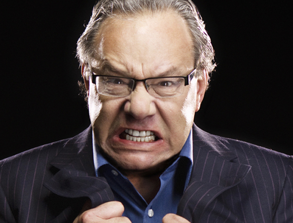 Comedian Lewis Black played a brief run at the Richard Rodgers Theatre, which opened on October 9.