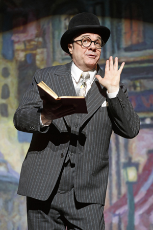 Nathan Lane returned to Broadway on April 15 in Douglas Carter Beane's drama <i>The Nance</i>, which opened at the Lyceum Theatre under Jack O'Brien's direction.<br />(© Joan Marcus)