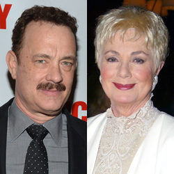 Tom Hanks and Shirley Jones