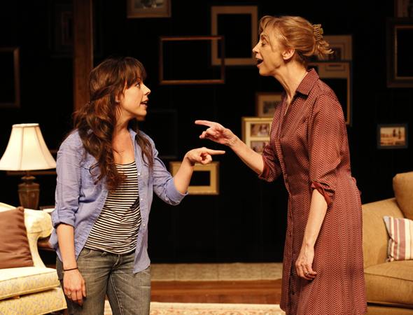 Leslie Kritzer and Catherine Cox in <i>The Memory Show</i> at the Duke o
