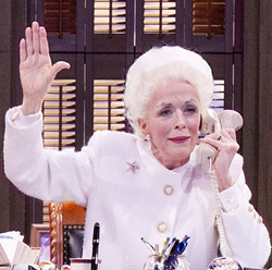 """Hold everything. I'm nominated for a Drama Desk."" Holland Taylor in <I>Ann</I>."