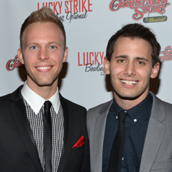 Justin Paul and Benj Pasek
