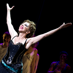 Andrea Martin takes her bow on the opening night of <i>Pippin</i>.