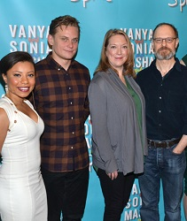 A quad of Tony nominees for <I>Vanya and Sonia and Masha and Spike</i>.