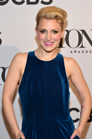 "Annaleigh Ashford, a Best Featured Actress nominee for <i>Kinky Boots</i>, called Tony nominations ""one of the most exciting days of my career.""<br />(© David Gordon)"