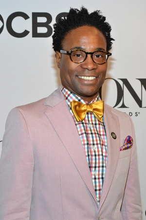 "Billy Porter, a Best Leading Actor nominee for <i>Kinky Boots</i>, is ""so excited to be nominated for so many awards this year"": a Drama Desk, a Tony, and an Outer Critics Circle Award.<br />(© David Gordon)"