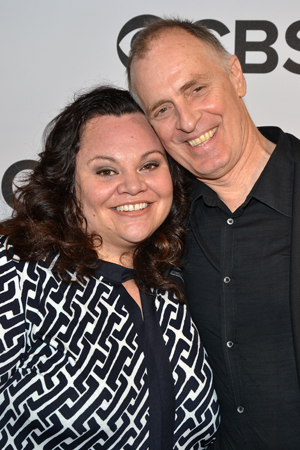 """I'm so proud of the show we all did,"" said <i>Hands on a Hardbody</i>'s Keith Carradine, seen here with costar and fellow featured acting nominee Keala Settle.<br />(© David Gordon)"