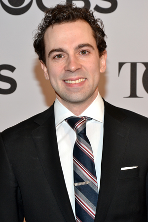 "<i>Chaplin</i>'s Leading Actor nominee, Rob McClure, told us that his ""phone lit up and it was a text from my mom that said, 'Holy sh*t!'""<br />(© David Gordon)"