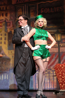 Nathan Lane and Jenni Barber in <i>The Nance</i>