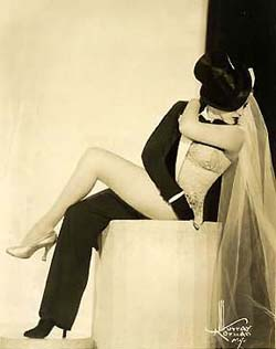 Zorita in her half-and-half act.