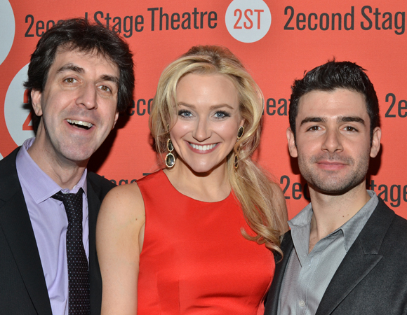 Jason Robert Brown, Betsy Wolfe, and Adam Kantor