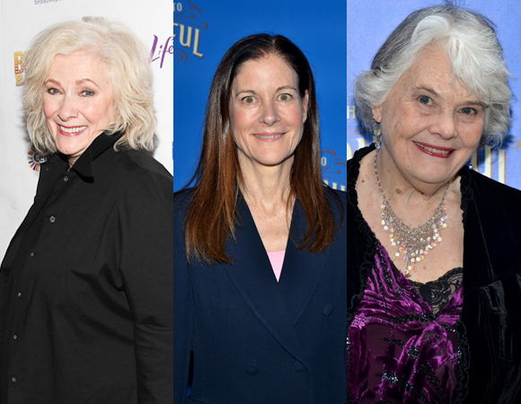 Betty Buckley, Hallie Foote, and Lois Smith