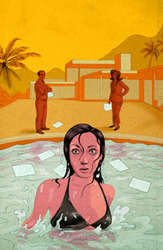 Promotional artwork for <i>Other Desert Cities</i>, courtesy of Arena Stage