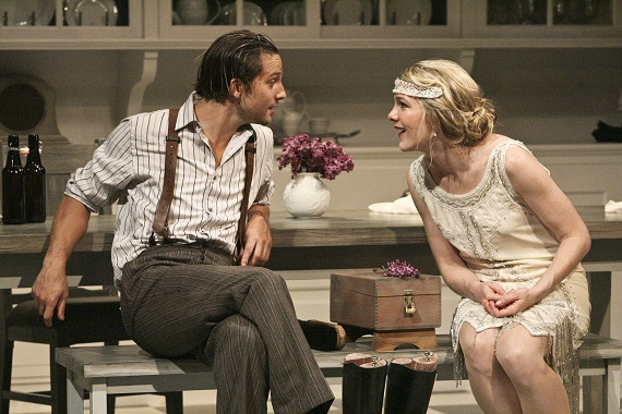 Logan Marshall-Green and Lily Rabe in <i>Miss Julie</i>