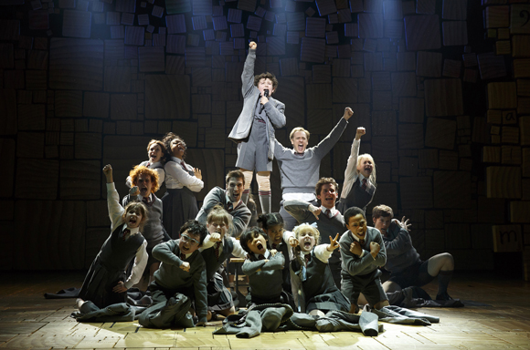 The cast of <i>Matilda</i>
