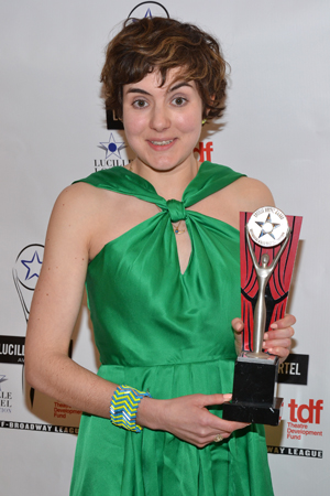 Jessica Pabst was awarded a Lortel for her costume design in the drama <i>The Whale</i>.<br />(© David Gordon)