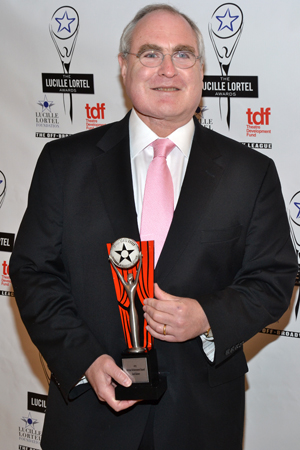 Roundabout Theatre Company Artistic Director Todd Haimes received a Lifetime Achievement Award.<br />(© David Gordon)
