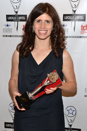 Leah Gelpe won a Lortel Award for Outstanding Sound Design in the drama <i>Slowgirl</i>.<br />(© David Gordon)