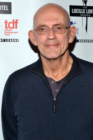 Christopher Lloyd, currently starring in Classic Stage Company's <i>The Caucasian Chalk Circle</i>, presented the award for Best Revival.<br />(© David Gordon)