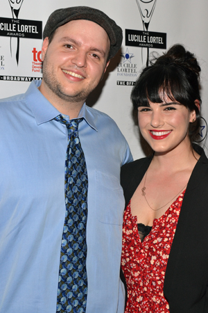 <i>Falling</i> nominee Daniel Everidge smiles alongside his girlfriend, actress Molly Hager.<br />(© David Gordon)