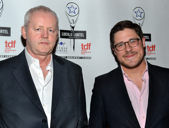 Presenters David Morse and Rich Sommer will next be seen off-Broadway in <i>The Unavoidable  Disappearance of Tom Durnin</i>.<br />(© David Gordon)